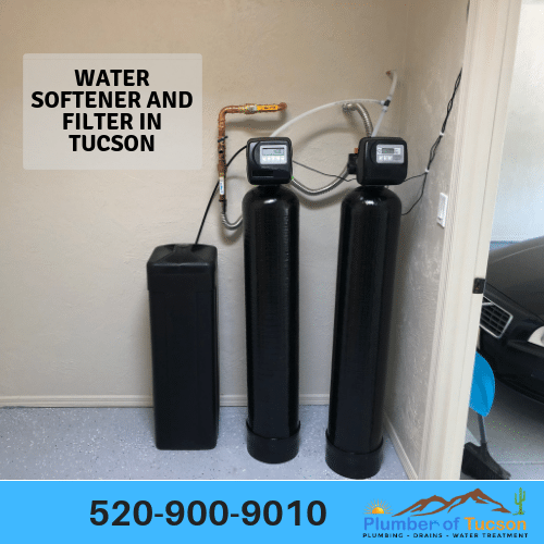 maintenance and installation of water softeners