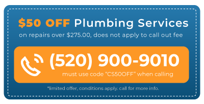 Tucson 50 off plumbing services