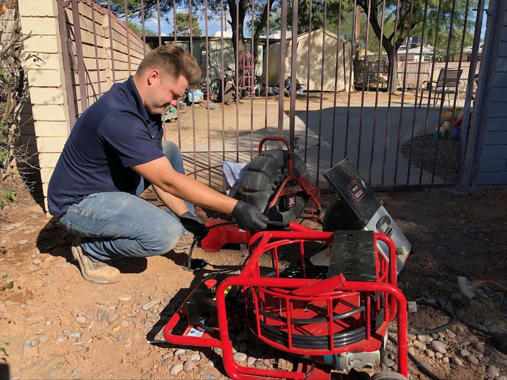 Sewer Cleanout Installation in Tucson