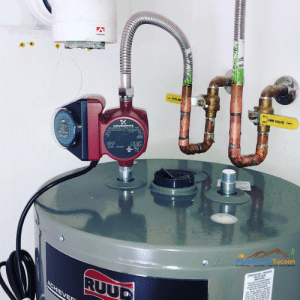 hot water recirculating pump