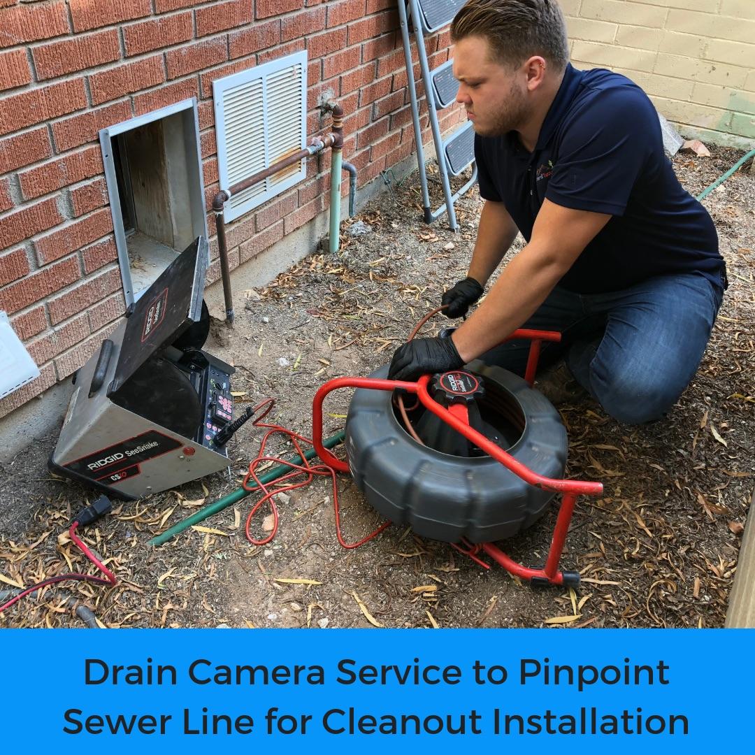 Drain camera service Tucson