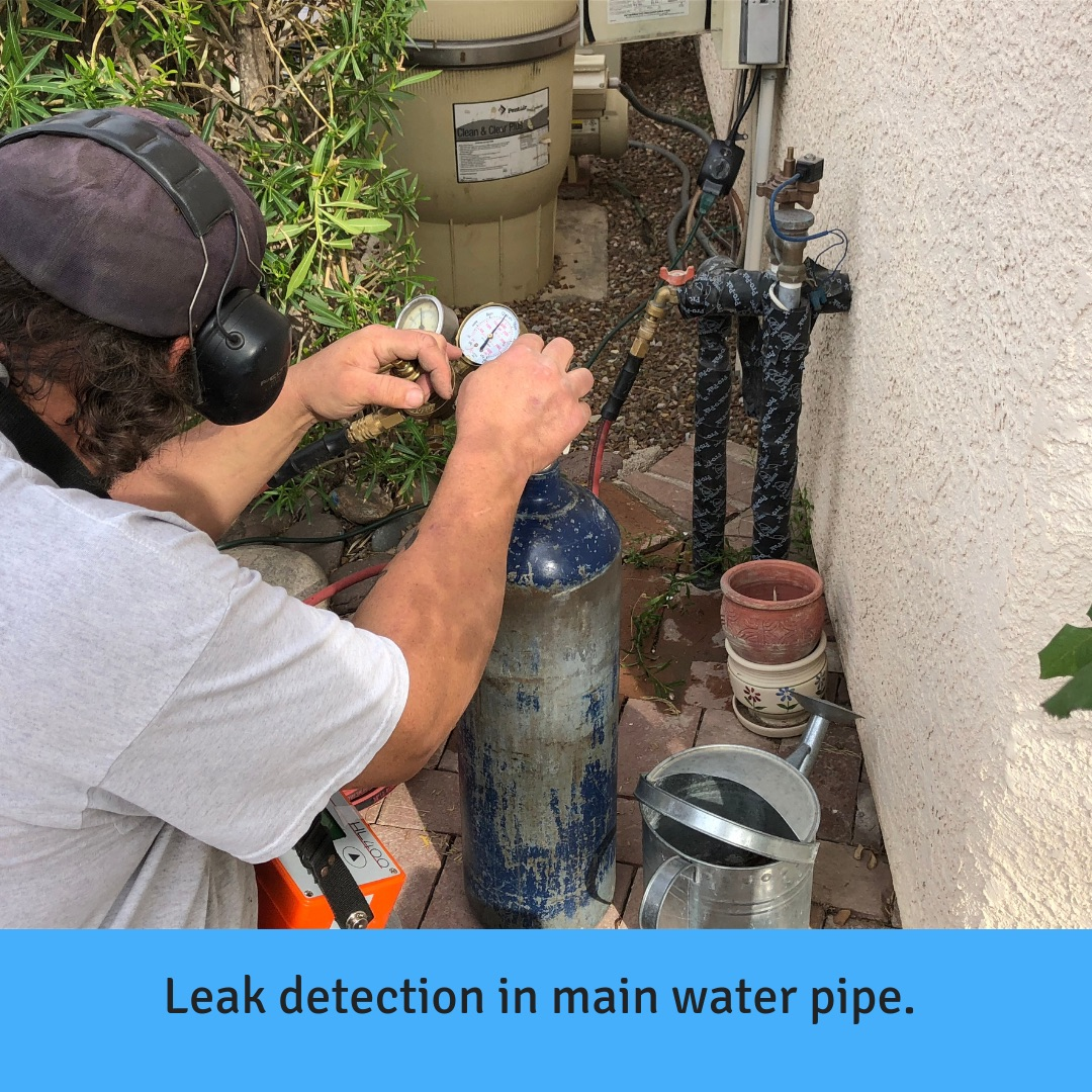 Leak Detection Under Concrete Slab