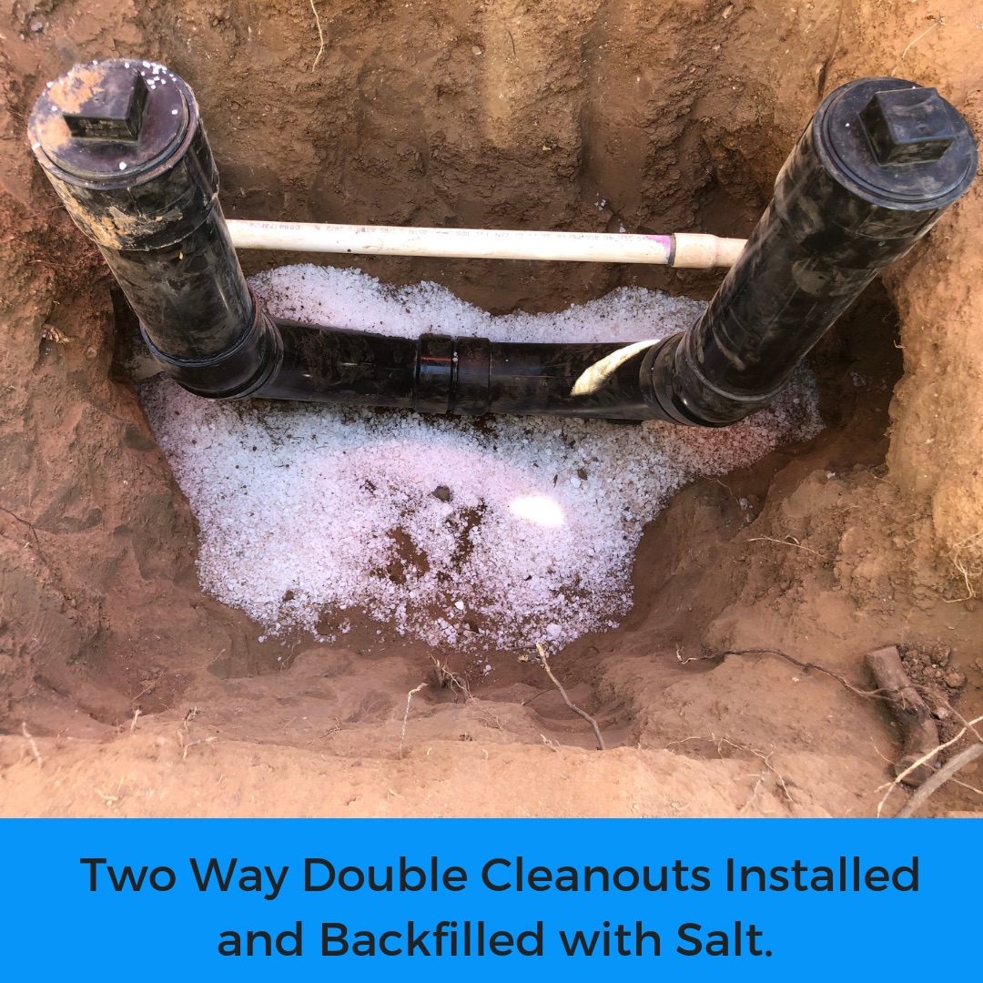 Two Way Double Sewer Cleanout
