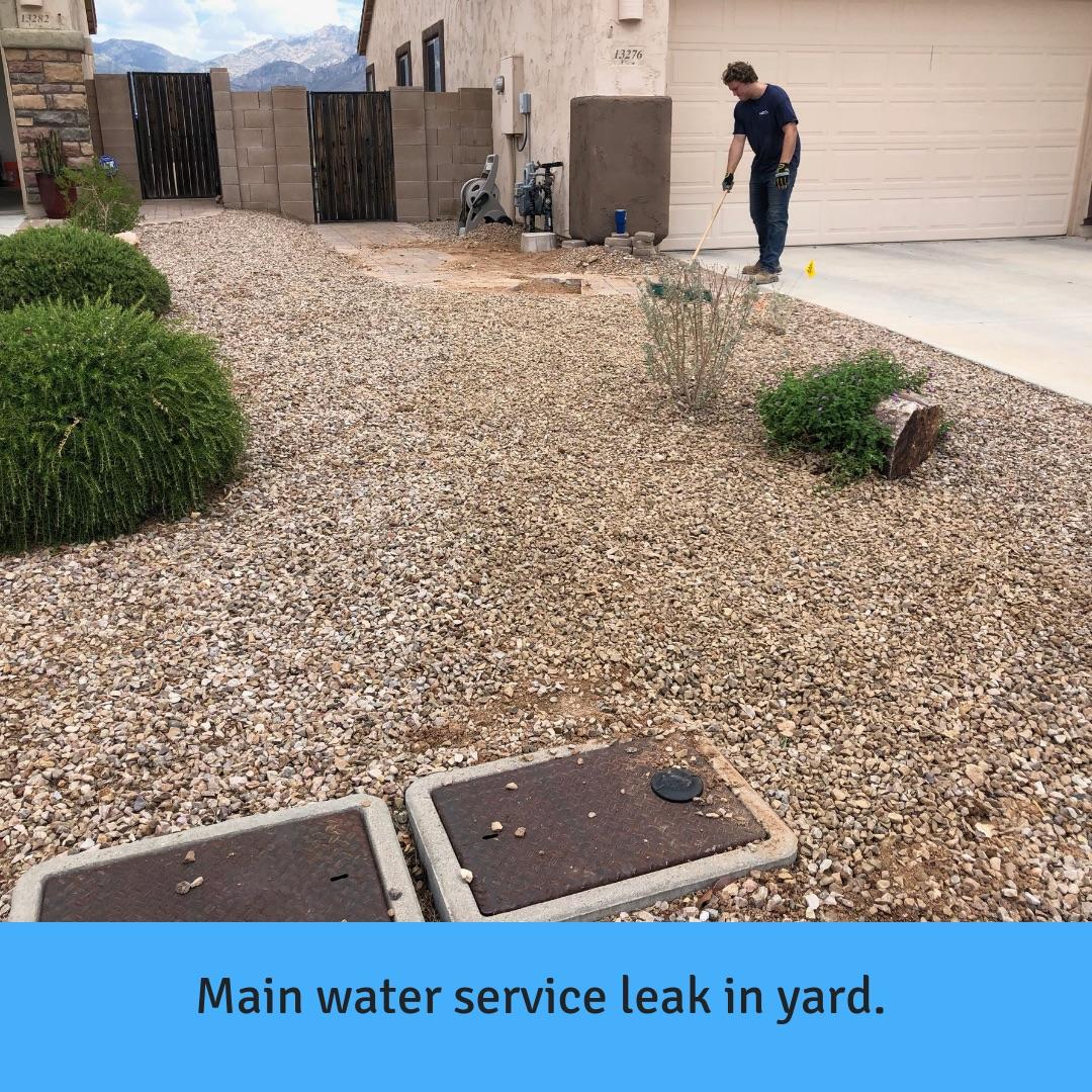 Water Line Repair in Tucson