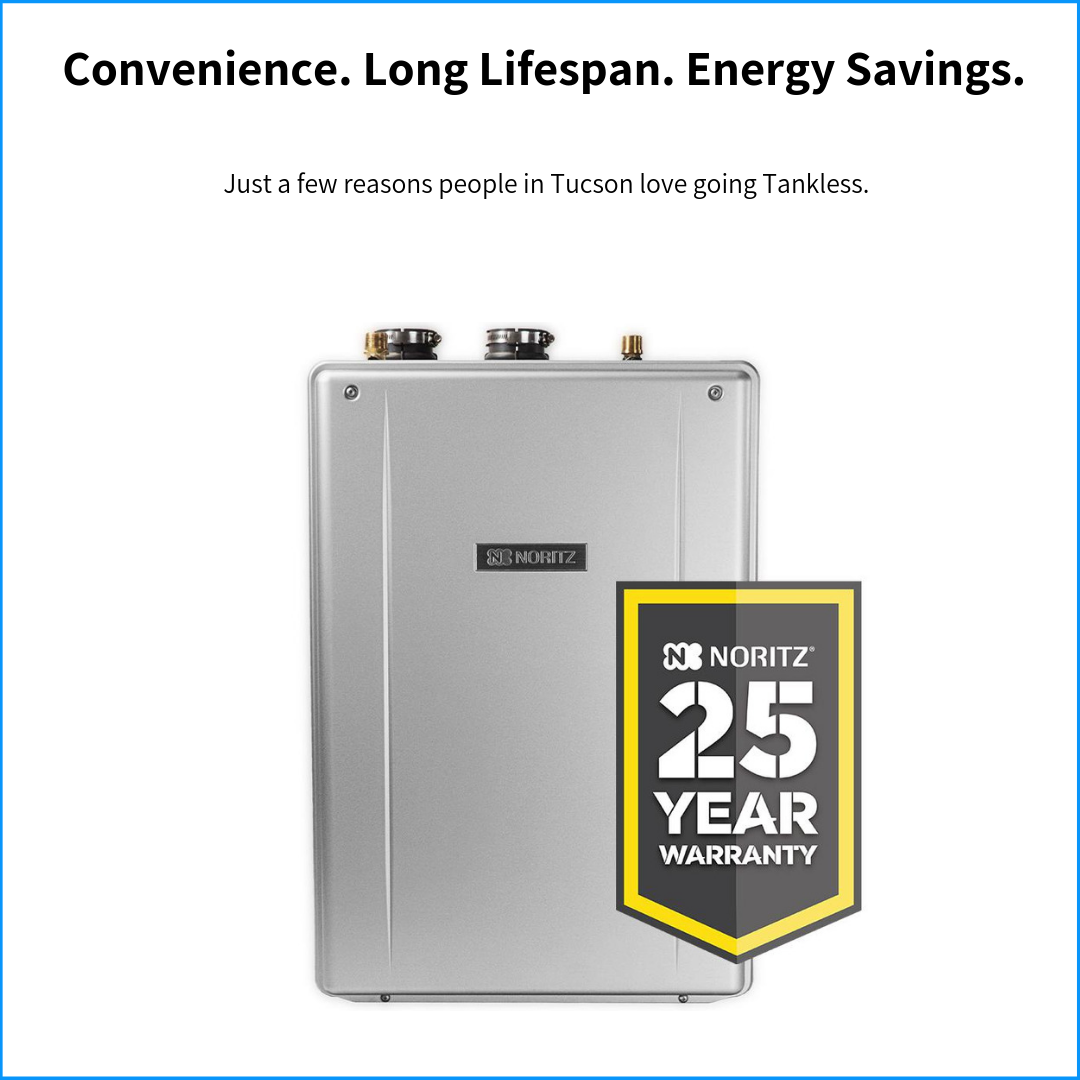 tankless water heating expert tucson