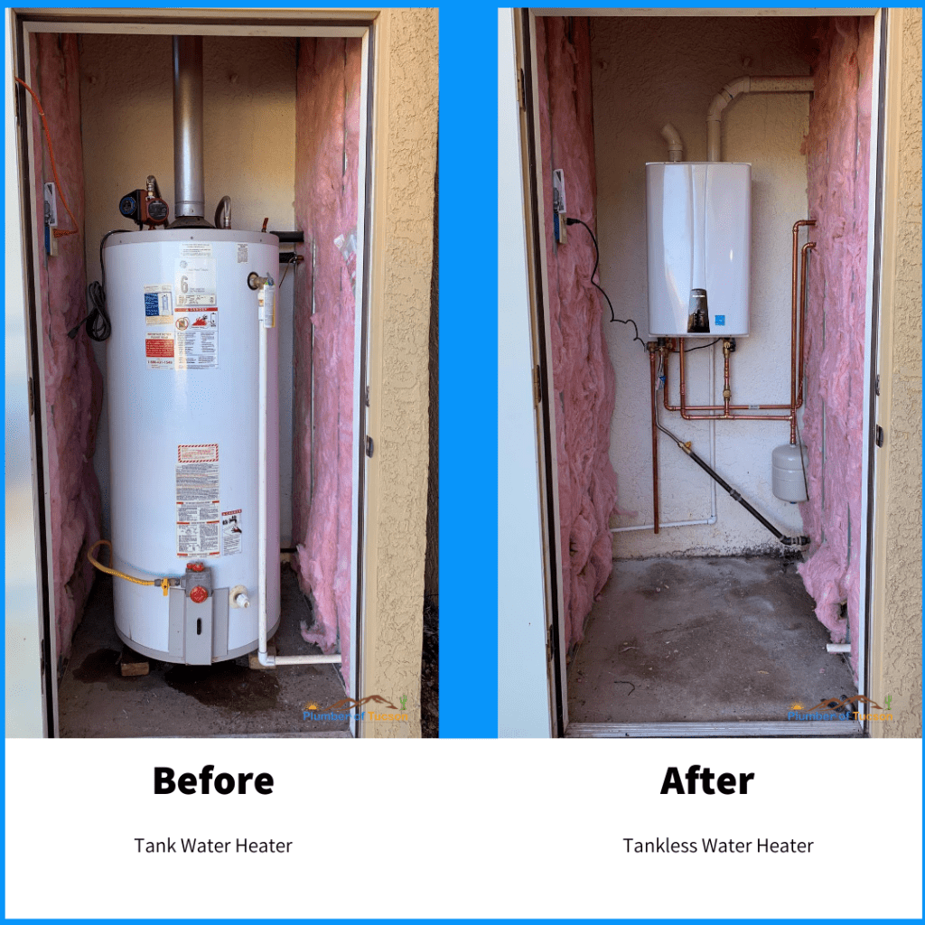 Tankless Water Heater Installation in Marana AZ