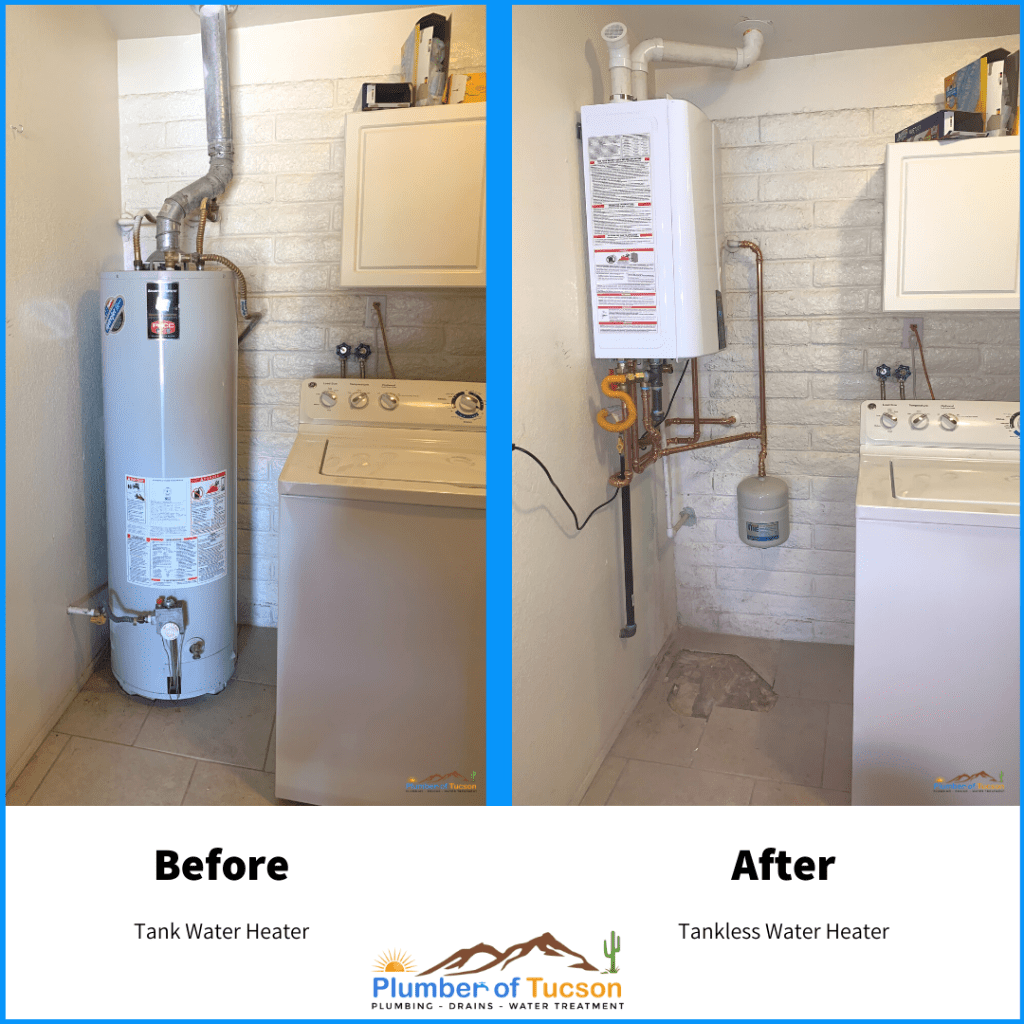 Tankless Installation in Tucson