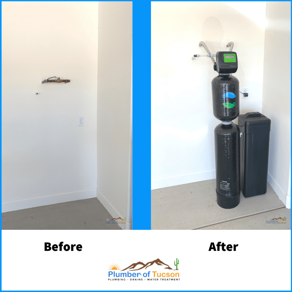 Before and After Green Fusion Installation