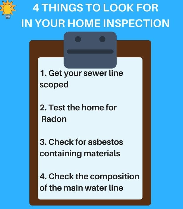Things to look for in your home inspection